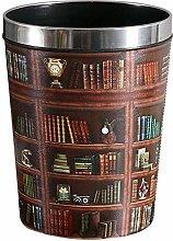 GAKIN 1 PC Bookcase Type Waste Paper Bin With