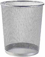 GAKIN 1 Pc Circular Metal Mesh Waste Paper Bin