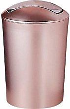 GAKIN 1Pc Waterproof Waste Paper Bin With Lid 10L