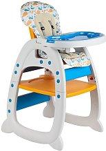 GALACTICA Baby Highchair 3in1 Orange