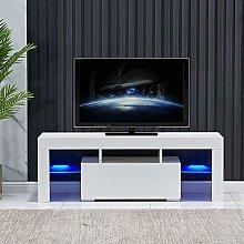 Galaga LED TV Stand Cabinet Unit Modern TV Desk