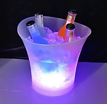 Galapara LED Ice Bucket,5L Large capacity wine