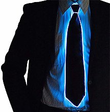 Galapara LED Luminous Party Necktie, Glow in the
