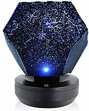 Galapara LED Star Projector Night Light, 3D