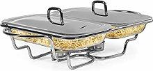 Galashield Chafing Dish Food Warmer Stainless