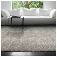Galaxy Brown 200x290cm Large Rug Carpet Shaggy