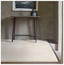 Galaxy Cream 135x200cm Large Rug Carpet Shaggy