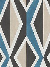 Galerie Big Ikat Stripe Wallpaper