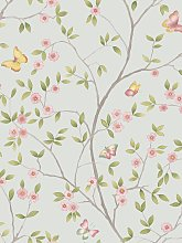 Galerie Butterfly Floral Trail Wallpaper