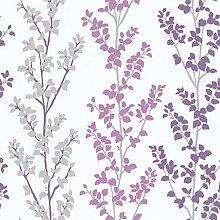 Galerie G56333 Tempo Wallpaper, Purple