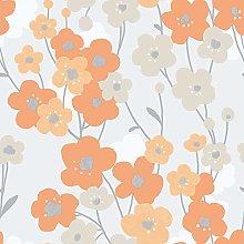 Galerie G56346 Tempo Wallpaper, Orange