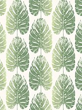Galerie Leaf Stripe Wallpaper