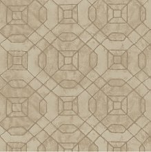 Galerie Metallic Geometric Wallpaper