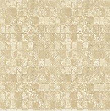Galerie Metallic Tile Wallpaper