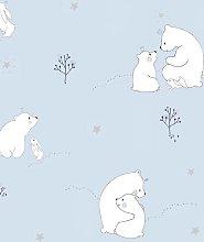 Galerie Mummy Bear & Baby Bear Wallpaper