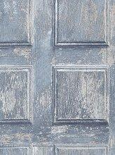 Galerie Rustic Door Panel Wallpaper