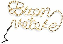 Galileo Casa 2196574 Light Up Christmas Sign 64 x