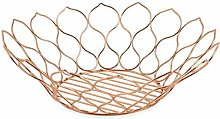 Galileo Casa New Copper Fruit Bowl, Copper, 35x