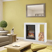 Galileo Evonic Free-standing Electric Fireplace