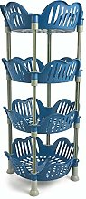 Galileo Home Kitchen Basket, Blue, One Size