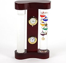 Galileo Thermometer & Storm Glass Display 18cm