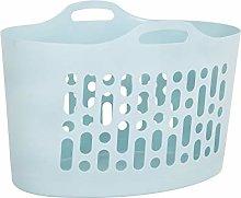 Galleries 50L Plastic Flexible Laundry Basket