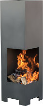 Gallery Collection Box Fire Outdoor Fireplace