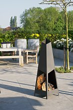 Gallery Collection Teepee Outdoor Fireplace