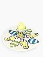 Gallery Thea Personalised Egg Cup And Plate Set