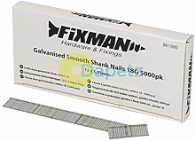 Galvanised Smooth Shank Nails 18G 5000Pk 12 x