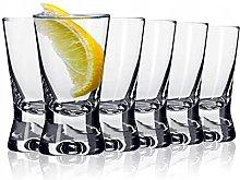 Galvog® Shot Glasses 25ml | Set of 6 Shot Glasses
