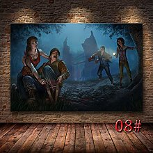 Game Dead by Daylight Poster Modern Living Room