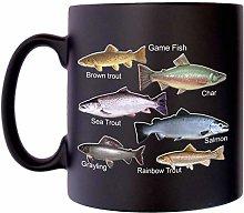 Game Fish Anglers Fishermans Klassek Fishing Mug