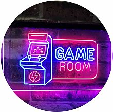 Game Room Arcade TV Man Cave Bar Club Dual Color