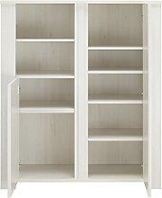 Gami Cabinet 2 Doors, Whitewashed Cherrywood