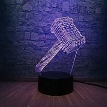 Gaming Accessories for Desk 3D Night Light 3D LED