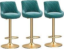 Gaming Chair, Barstools Modern Velvet Bar Stools,