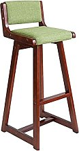 Gaming Chair, Barstools Wooden Bar Chair with