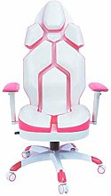 Gaming Chair for Girls Reclining Computer Chair