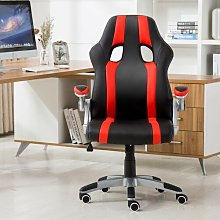 Gaming Chair Symple Stuff Colour (Upholstery): Red