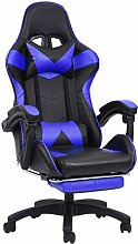 Gaming Chair with Footrest Adjustable Backrest