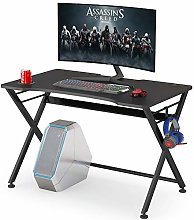 Gaming Desk Computer Desk with Cup