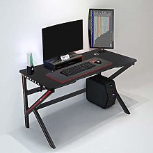 Gaming Desk, Computer Desk with Headphone Hook