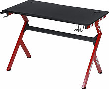 Gaming Desk Computer Table w/ Headphone Hook + Cup