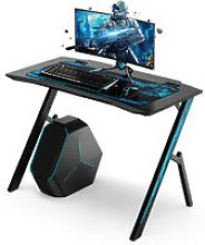 Gaming Desk Computer Table with Mouse Pad