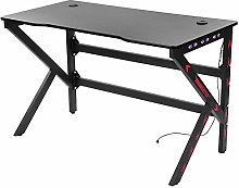 Gaming Desk Gaming Table 120cm R Shaped Office PC