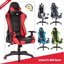 Gaming Gaming Racing Chair Dark Gray Office