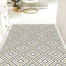 Gaming Rug yellow room rug Creative geometric