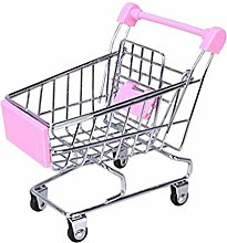 Gamloious Simulation Mini Shopping Cart Toys