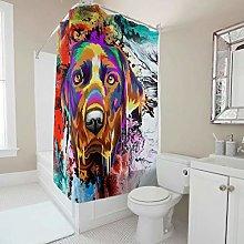 Gamoii Colourful Labrador Retriever Dog Shower